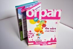 Brochure Sorties d'été - Orpan
