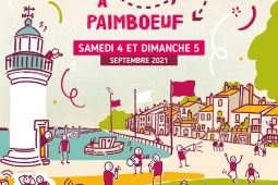 Détours à Paimboeuf, affiche, illustration territoires imaginaires