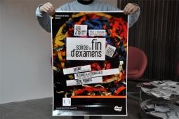 Affiche Pôle Etudiant Nantes