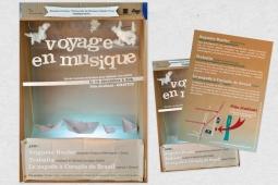 Affiche Voyage en musique