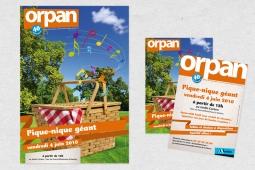 Affiche pique-nique géant - Orpan - Nantes