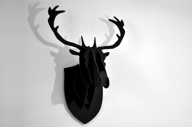 loisir cr atif troph e cerf. Black Bedroom Furniture Sets. Home Design Ideas