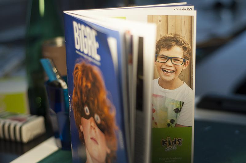 Portrait lunettes nantes kids optic