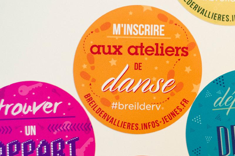 Stickers Breil Dervallières Mairie de Nantes